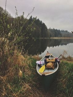Spring is in the air....#canoe #lake