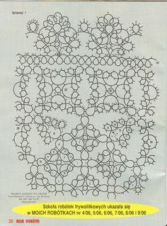 kwadratowa serwetka - schemat 2