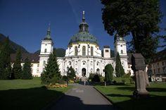 Ettal, Kloster-, Pfarr- und Wallfahrtskirche St. Maria