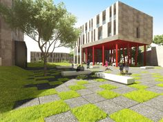 Fiba Residences architectural projects, please visit our page to view project details and photos. Sidewalk, Architecture, Arquitetura, Side Walkway, Walkway, Architecture Design, Walkways, Pavement