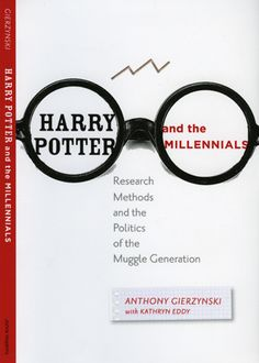 Harry Potter and the Millennials: Research Methods and the Politics of the Muggle Generation (John Hopkins University Press, 2013) reveals that readers of the seven-book series and viewers of the movie franchise tend be more open to diversity; politically tolerant; less authoritarian; less likely to support the use of deadly force or torture; more politically active; and are more likely to have a negative view of the Bush administration.