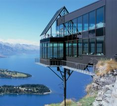 Skyline's Stratosfare Restaurant, Queenstown, New Zealand