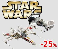 Rivivi la saga di Star Wars con i nostri model kit!  http://www.starshop.it/ricerca?q=star+wars+&grp=4&sct=0&edt=&aut=&sdi=0&prm=1&nvt=0&arr=0&ant=0&page=1&pagesize=12