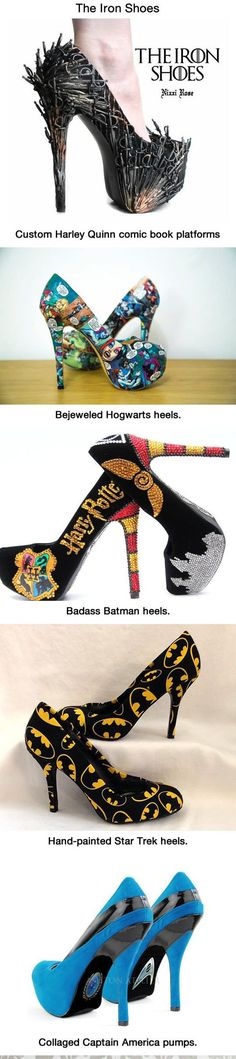Tacones de Harry Potter... Para que quiero mas