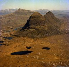 "Foreland Mountains - The Foreland Mountains in Assynt, in the Highlands, won the popular vote in the ""landscape"" category"