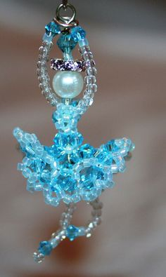 Handmade 3D Beaded Swarovski Crystal by CustomCrystalCharms