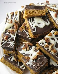 pumpkin spice cookie bars