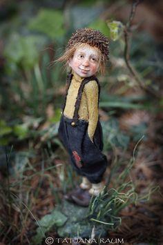 Garçon Pixie Rolfi OOAK faite par Tatjana Raum