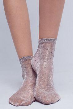 Shimmer Dot Socks #anthropologie