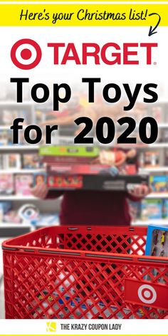 Looking for Target Top Toys for 2020? Your search is over! Target has announced their list just in time for the holiday season. With a number of retailers starting their Black Friday specials in October, it's good to know what's hot this season! To help keep you in the know this holiday season be sure to bookmark the KCL Toys Deals page . Interested in LEGO Black Friday deals or L.O.L. Surprise! Black Friday deals? KCL has you covered there too. #target #giftideas #giftlist