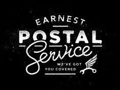 Earnest Postal Service by Jason Domancie