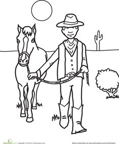 Coloring Pages For Kids : color by number horse Color By