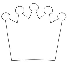 Crown invitation template