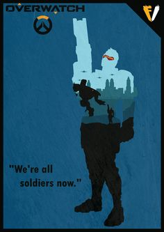 Buy this Poster here: society6.com/product/solider-b… But this T-Shirt here: www.redbubble.com/people/falle… Other Designs: Overwatch | Genji fallenv3gas.deviantart.com/art… Ove...
