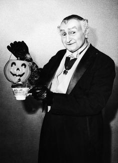 Al Lewis in a halloween promotional photo for The Musters, 1960s