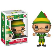 The best way to spread Christmas Cheer, is bringing Elf Pop!s home this year! From the hit holiday film Elf comes this stylized vinyl figure of Papa Elf. Packaged in a window display box, this Elf Papa Elf Pop! Vinyl Figure measures approximately 3 tall. Elf Movie, Red Dead Redemption, Pop Vinyl Figures, Pokemon Go, Chibi, Otaku, Figurines Funko Pop, Harry Potter, Gift Boxes