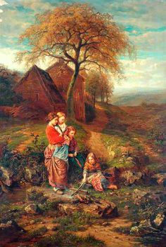 Henry Campotosto (1833 – 1910) – Pintor Belga_1