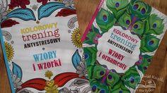 Kolorowy trening antystresowy, Księgarnia Bonito, recenzja http://magicznyswiatksiazki.pl/recenzja-kolorowy-trening-antystresowy/