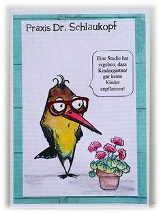 ' Stempelgaudi ': Bird Crazy - #39 - ... Wortspiele(reien) ...