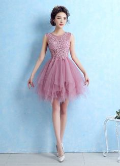 Color : Cameo Pink Fabric : Tulle Embellishment : Tiered, Lace Occasion : Homecoming, Cocktail, Prom The post Tulle Cocktail Lace Applique Sleeveless Tiered Homecoming Prom Dress appeared first on Power Day Sale. Prom Outfits, Homecoming Dresses, Bridesmaid Dresses, Robes D'occasion, Tulle, Cocktail Outfit, Plus Size Party Dresses, Illusion Dress, Party Gowns