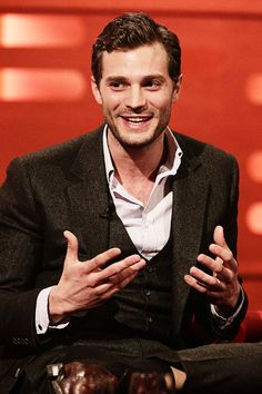 Jamie Dornan on The Graham Norton Show ( February 27th )