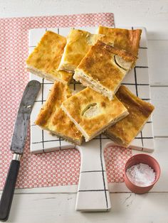 Apfel - Marzipan - Kuchen