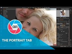 Photo RAW 2019 – The New Portrait Tab - The new Portrait Tab will automatically detect faces in your photo and will retouch to smooth skin, brighten and sharpen eyes, and whiten teeth. Coming soon in Photo RAW Smooth Skin, Teeth Whitening, Portrait Photography, Eyes, Face, Youtube, Training, Tutorials, Tooth Bleaching