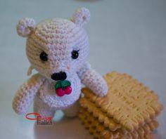 Amigurumi teddy bear in nagrudnichke | Mom On-Line