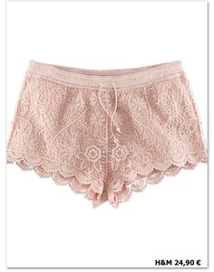 pink lacy shorts- Jimmy, I need these!!!