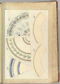 Alfred Henry Forrester [Alfred Crowquill] | Five Designs for Decorated Plates | The Metropolitan Museum of Art