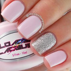 Love this soft pink