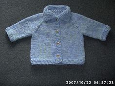 Top down baby sweater, free pattern