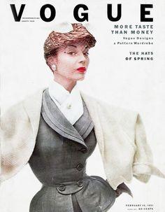 Clifford Coffin: Jean Patchett, VogueFebruary1951