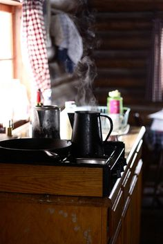 Little cabin kitchen.