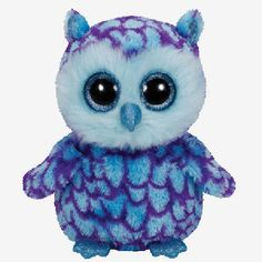 Ty Beanie Boos-Oscar the Owl! Looks a lot like Icicles, but it doesn't have the Santa hat, and it has ears.