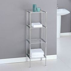 We're looking to makeover our tiny master bathroom so I've been looking so I've been looking on Pinterest for some small bathroom organizing ideas.