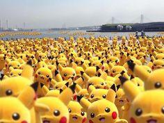 【きょう8日から】ピカチュウ、今年も1000体以上で横浜みなとみらいに大量発生! http://news.livedoor.com/article/detail/10245481/…  16日まで大量発生チュウ!