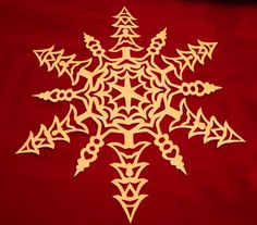 Snowflakes 2 Patterns and instructions for 12 by timquilts on Etsy