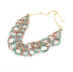 Beaded Bib Necklaces | click to enlarge