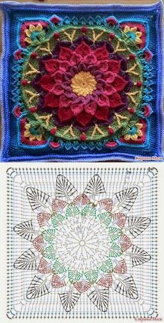 Mandala: Crochet Motifs…♥ Deniz ♥ – Love Amigurumi Mandala: Crochet Motifs…♥ Deniz ♥ – Love Amigurumi,Crochet *Mandala* Mandala: Crochet Motifs…♥ Deniz ♥ Related posts:VSCO - holy shit that's a lot of repubs Motif Mandala Crochet, Crochet Motifs, Crochet Blocks, Granny Square Crochet Pattern, Crochet Diagram, Crochet Chart, Crochet Squares, Crochet Stitches Patterns, Knitting Patterns