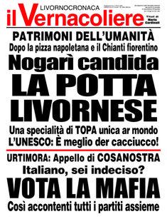 Una nuova vignetta di Fabio Nocchi | Il Vernacoliere Mafia, Signs, Shop Signs, Sign
