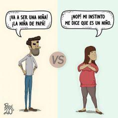 Un medio mexicano publicó viñetas sobre cómo son los padres en la actualidad. Conocé la divertida historia.
