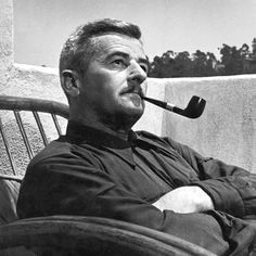 American author William Faulkner. Nobel Laureate (1949.) Recommended reading: As I Lay Dying, Light in August, Absalom, Absalom!