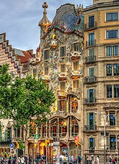 Casa Batlló (A. Gaudi) Barcelona | Flickr - Photo Sharing!