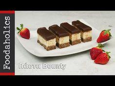 Απίθανη πάστα bounty καρύδας με σοκολάτα | foodaholics - YouTube Tiramisu, Ethnic Recipes, Youtube, Desserts, Food, Tailgate Desserts, Dessert, Postres, Tiramisu Cake