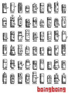 Tom Gauld - robots