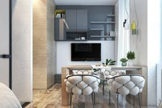 Small Apartments That Go Big With Bold Decor Themes