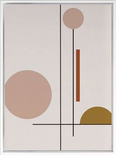 Clean Lines Canvas Wall Art by A La Mode Studio. Get it now or find more All Wall Art at Temple & Webster. Minimalist Painting, Minimalist Art, Diy Wall Art, Wall Decor, Art Pastel, Canvas Wall Art, Wall Art Prints, Op Art, Pattern Art