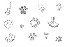 Amanda Fonseca on In Mini Tattoos, Small Dog Tattoos, Memorial Tattoos Small, Tattoos For Dog Lovers, Body Art Tattoos, Tattoos Skull, Small Remembrance Tattoos, Dove Tattoos, Tatoos