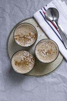 Mousse de leche de coco, plátanos asados &Co. — Being Biotiful